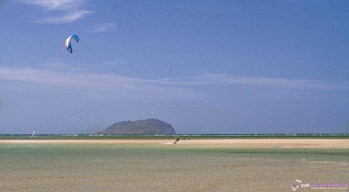 Кайтсерфинг на острове Куйо, фото 3
